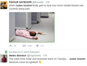 Checkout These Hilarious Tweets As Judas Iscariot Trends On Twitter